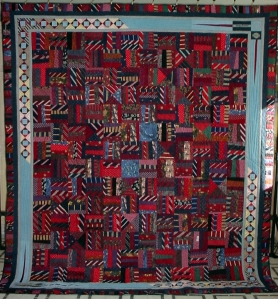 Josh's Neck Tie Quilt - Made From his Step Dad's Neck-Ties