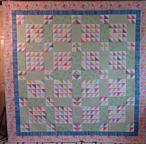Ellen's Quilt finally Completed