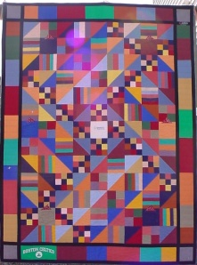 Colorful Tee-Shirt Quilt